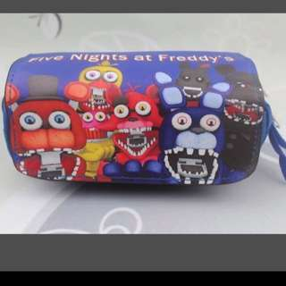Instocks Five Nights @ Freddy Pencil Case