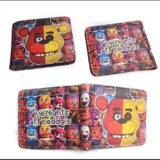 Instocks Five Nights @ Freddy wallet