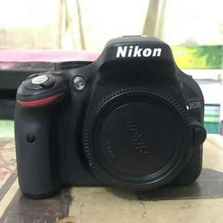Nikon D5200 with 50mm