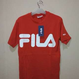 Tshirt fila Classic Orange