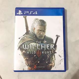 WITCHER III : WILD HUNT PS4 (SECOND)