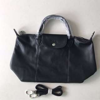 Longchamp Cuir - Medium