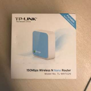 TP Link Wireless N Nano Router