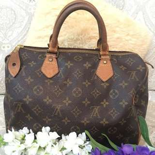 preloved LV speddy 30 ( Authentic Lv )