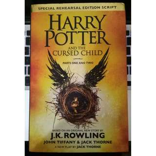 Novel Harry Potter and The Cursed Child [Special Rehearsal Edition Script]