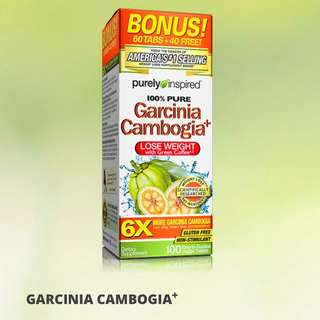 代購Purely Inspired, Garcinia Cambogia+, 1,600 mg, 100 Tablets