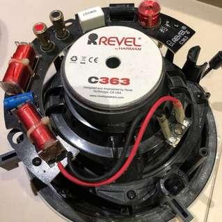 Revel C363 ceiling speakers X 1pair