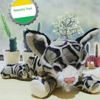 Boneka Macan Belang warna Abu abu