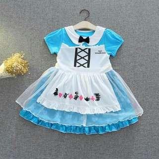 Alice in the wonderland dress 2