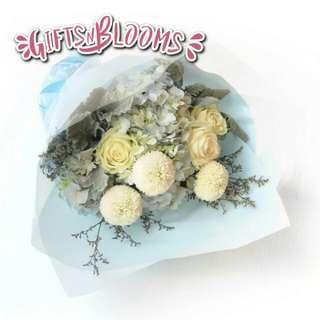 Valentine Bouquet Anniversary Gift Fresh Flower Bouquet V37 - JGVII