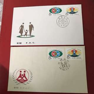 China stamp 1983 T91 2 FDC