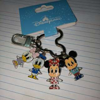 Keychain from Hong Kong Disneyland (Couples: Daisy and Donald Duck, Minnie and Mickey Mouse)