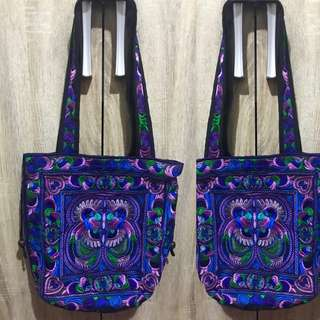 Colorful Embroidered Bag