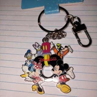 Keychain from HongKong Disneyland (Mickey and Friends)