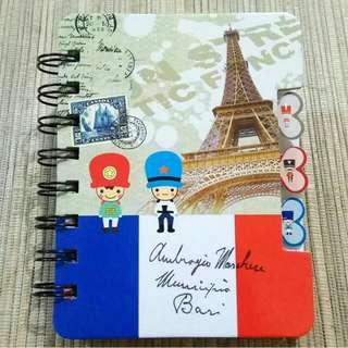Buku Note Paris B