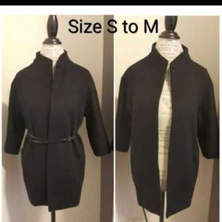 Black Jacket- Size S to M
