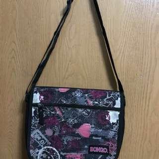Double Flap Sling Bag