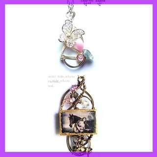 Edynae Handcrafted/Handmade Jewellery Necklace with Genuine Swarovski Crystals