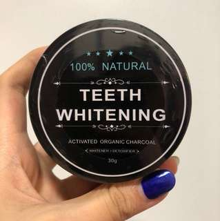 100% Natural Teeth Whitening Activated Organic Charcoal