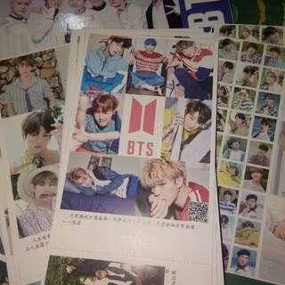 BTS post cards (30 pcs.)