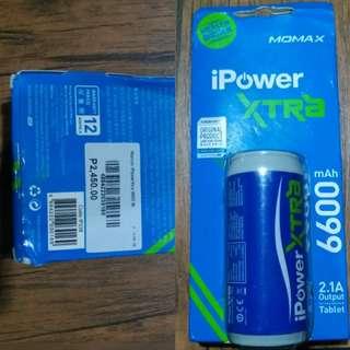 Powerbank 6600mah by MOMAX