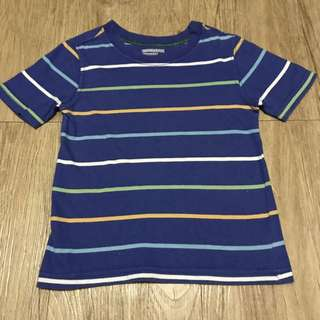 Old Navy T-Shirt Blue with Stripes