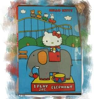 Hello Kitty A4 File