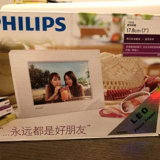 Philips electronic photo frame (brand new)