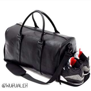 [Pre-Order] Black Gym Duffel Bag