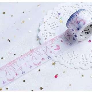 Pastel Banner Washi Tape (30mm x 5m)