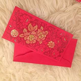 Classic Design Red Packets / Ang Pao