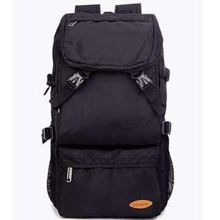 45L Black Solo Travel Backpack/ Haversack/ Bag
