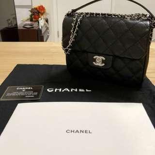 全新Chanel 最新款茘枝皮袋