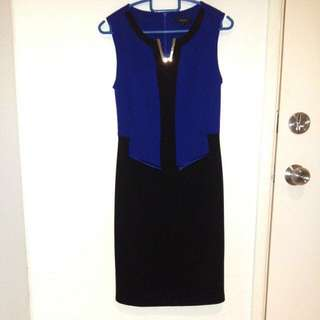 Nichi BNWOT Royal Blue Dress