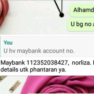 Fraud Seller (Norliza Nasrud)