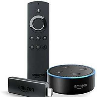 Amazon Firestick and Echo Dot (2nd Generation) Bundle
