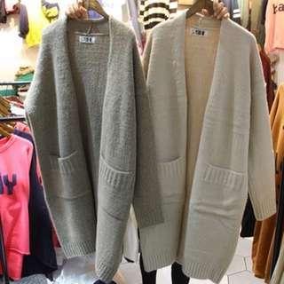 🚚 正韓針織開襟外套