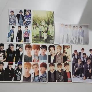 Exo Post Cards
