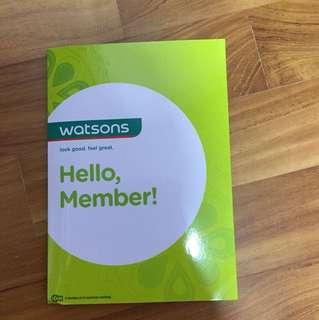 Watsons Card