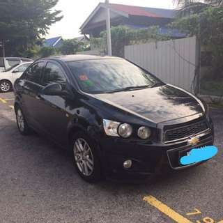 Chevy Sonic 1.4 for sale (condition very good)