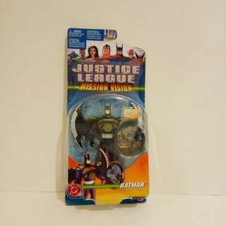 2003,Justice League Mission Vision Batman Figure