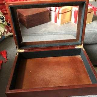 名牌錶盒,木盒,首飾盒