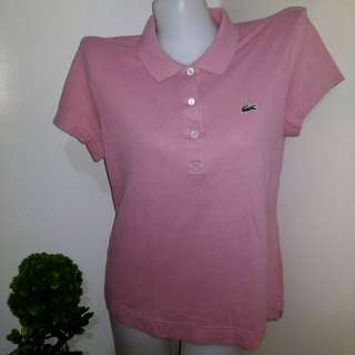 Lacoste Polo Shirt - Size 42