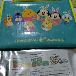 香港迪士尼野餐墊