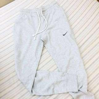 🚚 降價‼️ Nike 灰色 縮口 運動休閒褲