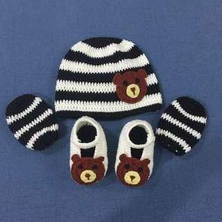 Baby boy set crochet