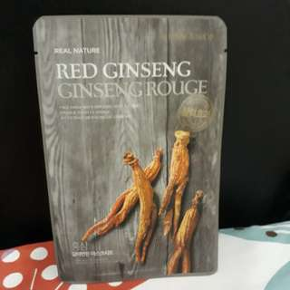 SHEET MASK RED GINGSENG