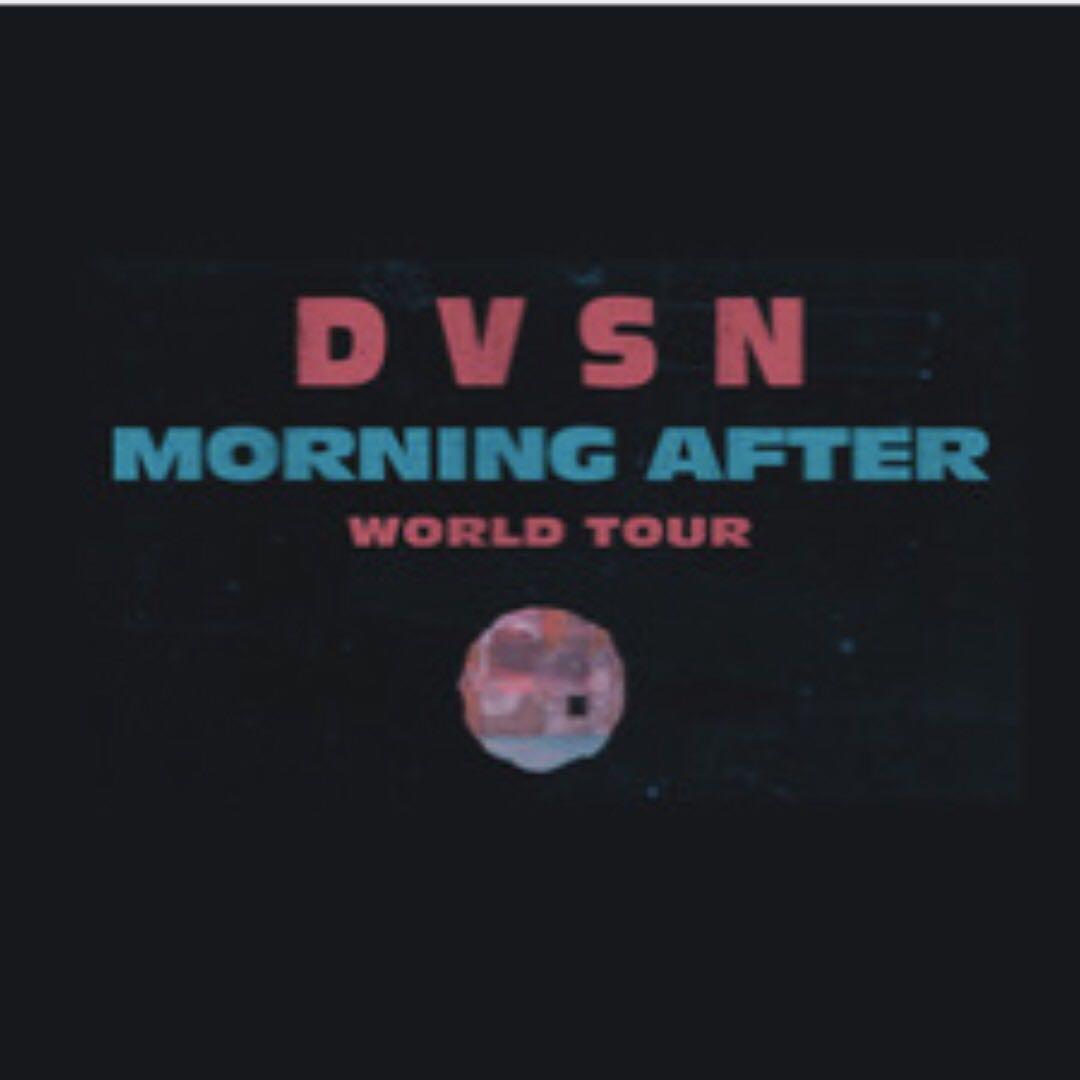 4 DVSN morning after concert tickets (GA) $70 @ Rebel on Feb 28, 2017