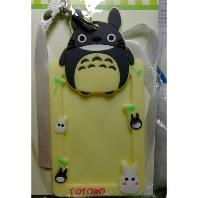 可愛 龍貓 悠遊卡套 矽膠卡套 宮崎駿系列