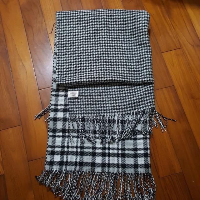 超大條保暖圍巾